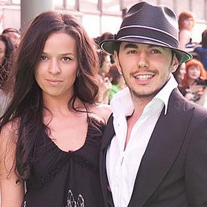 Тимур Родригез с супругой Анной